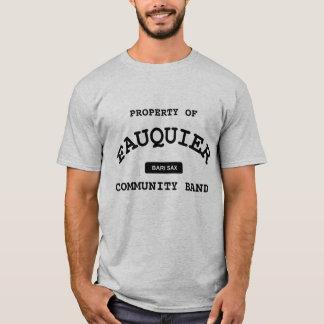 Fauquier Band -- BARI SAX T-Shirt