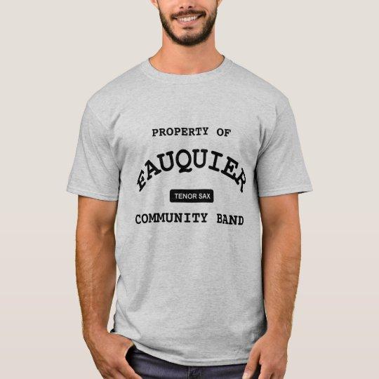 Fauquier Band -- TENOR SAX T-Shirt