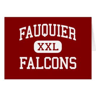 Fauquier - Falcons - High - Warrenton Virginia Card