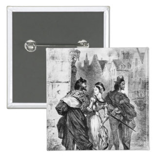Faust meeting Marguerite Pinback Buttons