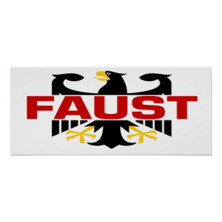 Faust Surname Poster