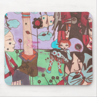 faustine surrealistic mousepad