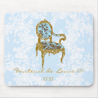 Fauteuil de Louis XVI ~French Chai... - Customized Mouse Pad