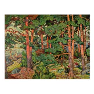 Fauve Landscape, 1910 Postcard