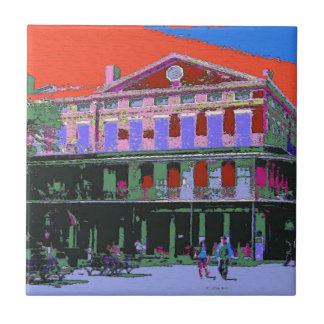 Fauvism: New Orleans Pontalba Building Tile