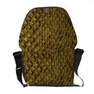 Faux Alligator Skin Designer Commuter Bags
