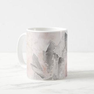 *~* Faux Amethyst Crystal Healing Energy Chakra Coffee Mug
