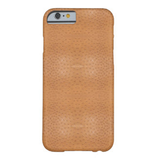 Faux Beige Ostrich Skin Case Barely There iPhone 6 Case