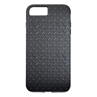 Faux Black Diamond Plated Sheet Metal iPhone 8 Plus/7 Plus Case