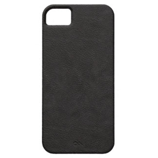 Faux Black Leather iPhone 5 Cases