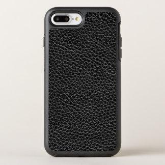 Faux Black Leather OtterBox Symmetry iPhone 8 Plus/7 Plus Case