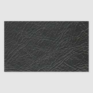 faux black leather texture sticker