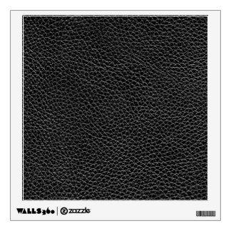 Faux Black Leather Wall Sticker