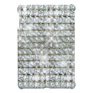 Faux Bling Diamond Print Cover For The iPad Mini
