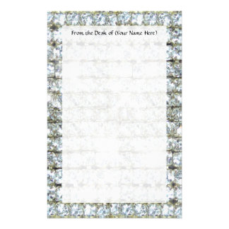 Faux Bling Stationery