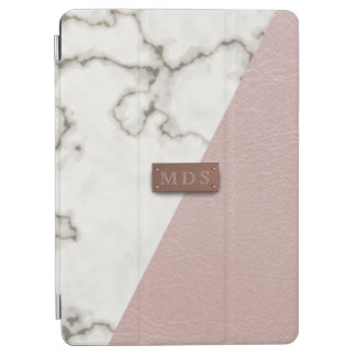 Faux Blush Pink Leather Marble iPad Air 2 Cover iPad Air Cover