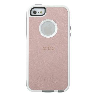 Faux Blush Pink OtterBox iPhone 5 SE Case