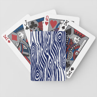 Faux Bois Bicycle Playing Cards