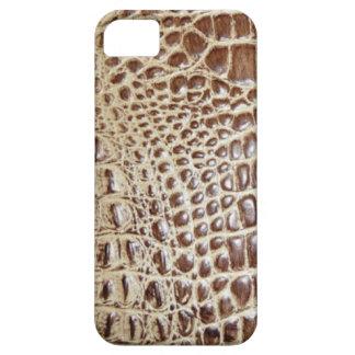 Faux Brow Alligator Hide Pattern iphone5 Case