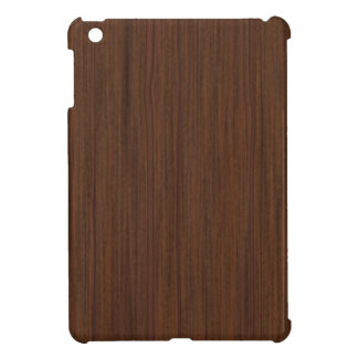 Faux Brown Wood iPad Mini Case