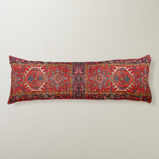 Faux Carpet: Photo Print of Oriental Persian Rug Body Pillow