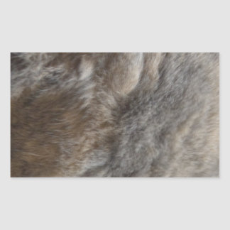 Faux Cat Fur look Sticker