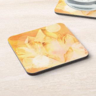 *~* Faux Citrine Chakra Crystal Energy Healing Coaster