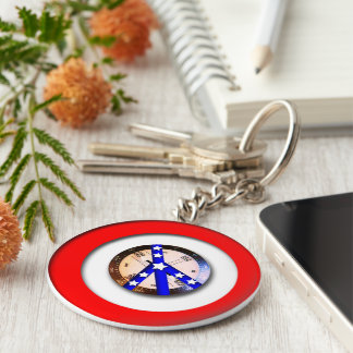 Faux Compass just an image Keychain