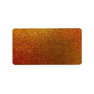 Faux Copper Gold Yellow Glitter Background Sparkle