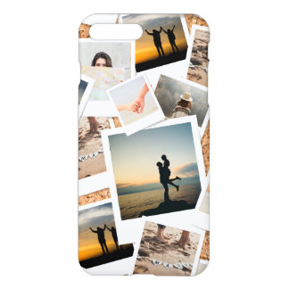 Faux Cork Photo Board of Memories. iPhone 8 Plus/7 Plus Case