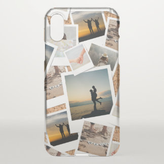 Faux Cork Photo Board of Memories. iPhone X Case