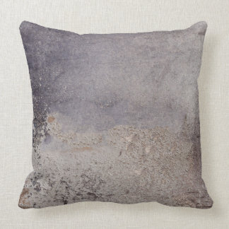 Faux Corroded Metal throw pillows
