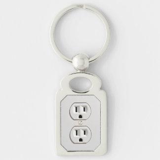 Faux débouché électrique drôle porte-clés