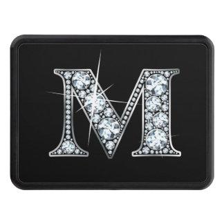 """Faux """"diamant Bling """" de M Couverture D'attelage De Remorque"""