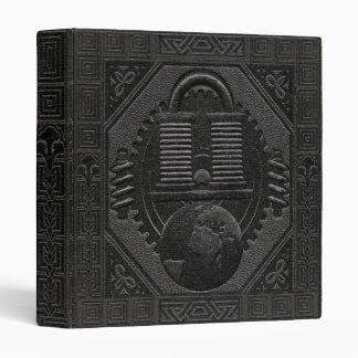 Faux Engraved-Looking Black Image Binder