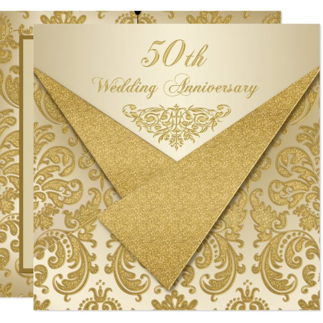50Th Anniversary Invitation as great invitation layout