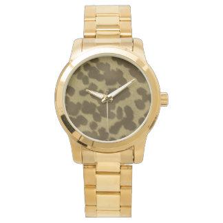 Faux Fur Design Watch