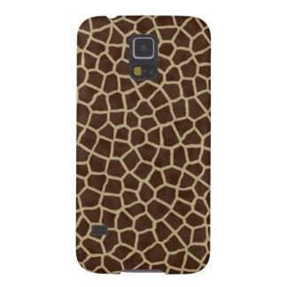 faux giraffe print galaxy s5 covers