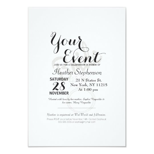 """Faux Glitter """"Bride"""" Typography and Diamond Ring Card"""