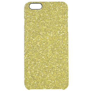 Faux Glitter iPhone 6 plus Uncommon case gold