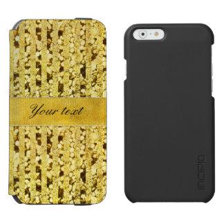 Faux Gold Foil Stripes and Confetti Incipio Watson™ iPhone 6 Wallet Case