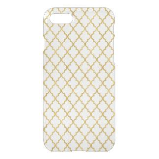 Faux Gold Foil Trellis Pattern iPhone 8/7 Case