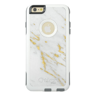 Faux Gold Marble Texture OtterBox iPhone 6/6s Plus Case
