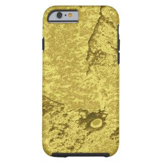 Faux gold nugget electronics tough iPhone 6 case