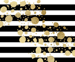 Black And Gold Wrapping Paper Gift Wrap More Zazzle Ca