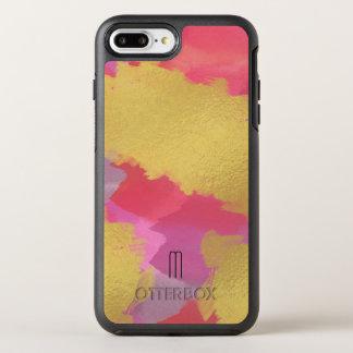 Faux Gold-Pink Otterbox iPhone 8 Plus/7 Plus Case