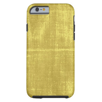 Faux gold silk look electronics tough iPhone 6 case