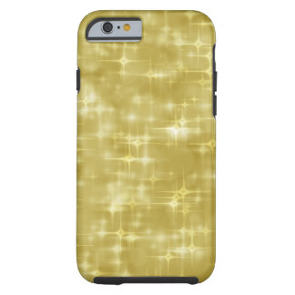 Faux gold sparkle look electronics tough iPhone 6 case