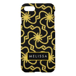 Faux Gold Starburst Art Deco Chic iPhone 7 Case