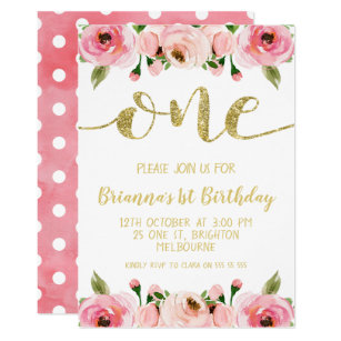 words for birthday invitations
